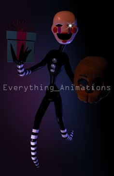 The Puppet by EverythingAnimations Freddy 's, Freddy Fazbear, Sister Location, Popular Girl, Papi, Rainbow Dash, Five Nights At Freddy's, Fashion Games, Puppets
