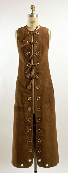 1968-1970 French Vest at the Metropolitan Museum of Art, New York - I think this looks really neat.