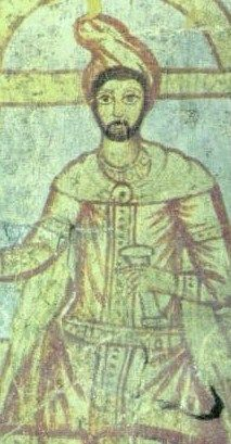 By the third century, Zoroastrianism and Zoroaster's ideas had spread throughout the Middle East. This painting of him was made in Syria.