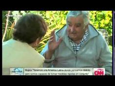 """ARISTEGUI - """"Entrevista a José Mujica"""" (completa) - YouTube.  """"Pobres son los que no tienen comunidad."""""""