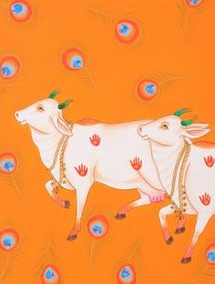 kamadhenu painting - Google Search