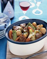 Lamb Stew with Root Vegetables Recipe on Food & Wine