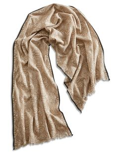 Lucky Brand Tribal Diamond Scarf Womens - Natural/Nigori (One Size)
