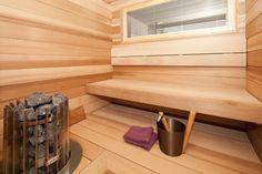 Kokkolan Merihelmi - Huoleton lapsiperheen koti - Sauna   Asuntomessut