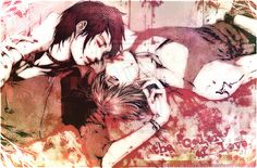 hot yaoi Photo: Well, looks like somebody's having fun *-*. Hot Anime Guys, Anime Love, Sakimichan Deviantart, Naruto, Pictures Of People, Shounen Ai, Art Images, Amazing Art, Manga Anime