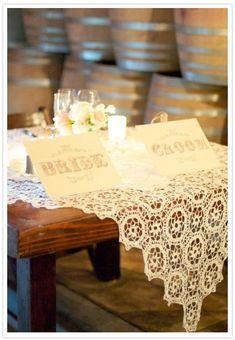 cute vintage tablescape