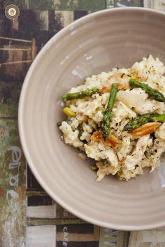 Gluten-free asparagus risotto