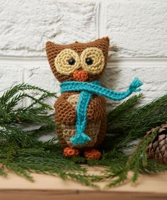 Wise Owl Ornament FREE pattern, yay, another lovely one to add to collection! thanks so xox