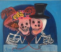 "A happy couple celebrating their special day!8"" X 10""Acrylic on Canvas"