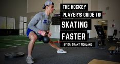 The Hockey Player's Guide to Skating Faster - Inspired Athletx Hockey Workouts, Hockey Drills, Hockey Players, Plyometric Workout, Plyometrics, Muscles In Your Body, Big Muscles, Youth Hockey, Hockey Mom