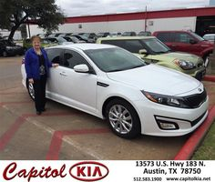 Congratulations to Barbara  Hoge on your #Kia #Optima purchase from Ashley Adams at Capitol Kia! #NewCar