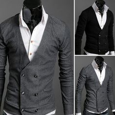 Double Breasted Cardigan Sweater