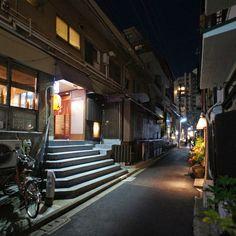 夜散歩のススメ「荒木町柳新町通り」東京都新宿区