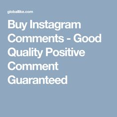 Buy Instagram Followers, Positive Comments, Positivity, Stuff To Buy