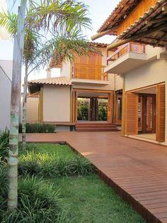 Casa Sauípe: Casas rústicas por Cia de Arquitetura