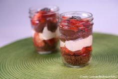 Ryan's Layers of Love Angel Food Trifle brings together delicious sweet strawberries, cream, and fluffy cake for an amazing easy-to-make dessert! #wwloves #recipe