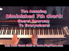 Diminished 7th Chords: The Secret Doorway To Everywhere - YouTube