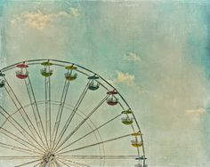 """At the Fair ""  Photograph and digital painting  by:© Michelle Anderson   of TheCamerasEye"