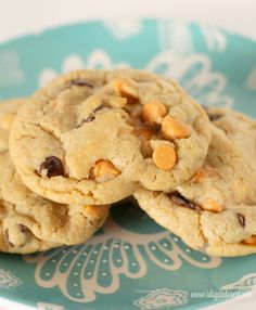 These chewy, delightful cookies are sure to appeal to all you butterscotch and chocolate lovers out there! But hey, even if you aren't a fan of butterscotch, sub out the chips for white chocolate, Craisins, nuts, caramel chips, whatever your heart desires.  The texture is soft, and with something this chalk-full of goodness, the end...