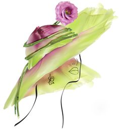 Chapeau De Fleur by Michel Tcherevkof