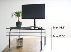 "VIVO Standing Height Adjustable Desktop Stand / Stand-up Work Space Desk Platform 32"""