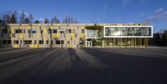 Harfang-Des-Neiges Primary School,© Stéphane Groleau