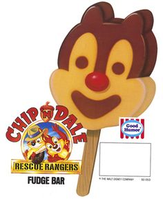 Chip N' Dale Fudge Bars