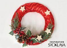Juta imitáció szélessége 36 cm karácsonyi chevron | STOKLASA rövidáru kereskedés