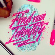 """Find your Identity.  #findyouridentity #art #type #typography #typegang #typehype #thedailytpe #goodtype #calligritype #typographyinspired #typespire…"""