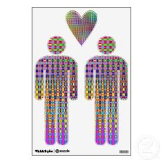 Psychedelia Gay Wall Decals