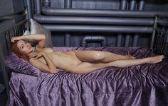 Wallpaper ukrainian nude girl, kika, gorgeous, posing, lying, bed, ukrainian