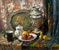 Ень Александр Николаевич. Приглашение к чаю.