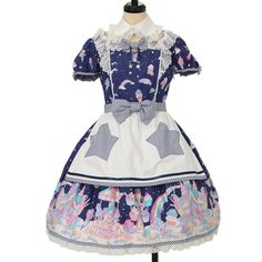 ♡ Angelic pretty ♡ Milky ★ Planet apron with Dress http://www.wunderwelt.jp/products/detail12784.html ☆ ·.. · ° ☆ How to order ☆ ·.. · ° ☆ http://www.wunderwelt.jp/user_data/shoppingguide-eng ☆ ·.. · ☆ Japanese Vintage Lolita clothing shop Wunderwelt ☆ ·.. · ☆
