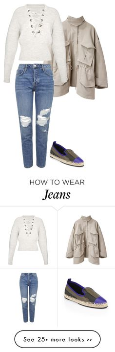 """""""TOPSHOP Jeans"""" by carlafashion-246 on Polyvore featuring Acne Studios, Topshop, Fendi and Isabel Marant"""