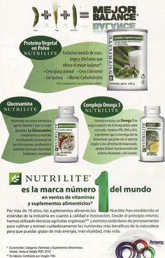 Nuestros productos de nutrición