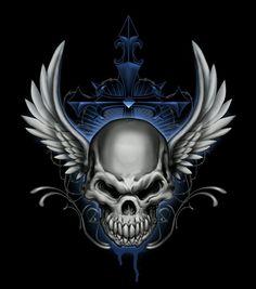 Winged Death's Head