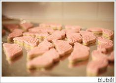 pink mustache cookies