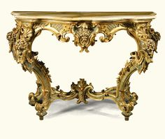 A pair of Italian pale blue lacquered and parcel-gilt console tables, 18th/19th century   lot   Sotheby's