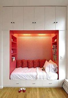 more realistic. reading area