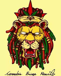 rasta lion by diivs.tinnakorn