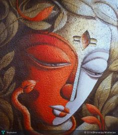 SHIVA #Creative #Art #Painting @touchtalent.com