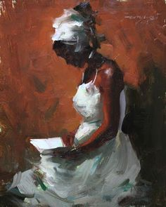 Reading and Art: by Fongwei Liu (Born in China, now living in San Francisco, CA)