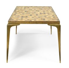 modernist brass coffee table - Google Search