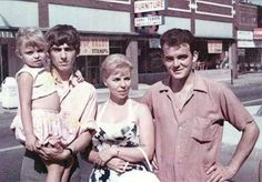 George with his sister Louise, brother Peter, and niece