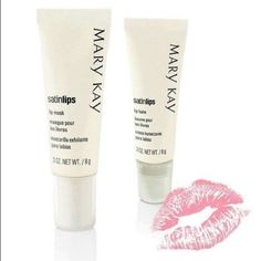 Satin lips sale $15 each Satin lips sale $15 each. Limited of time Marykay Makeup Lip Balm & Gloss