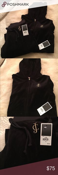JUICY COUTURE vintage tracksuit W/tags New with tags, sold as a set, velour material. Large top small bottom Juicy Couture Other