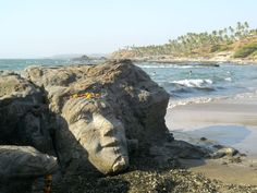 Vagator beach in Goa - a middle ground between calm beaches and rave crowds.