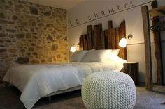 tete de lit & lampes