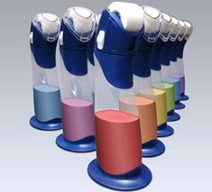 Paint Buddy - stores touch up paint indefinitely! Love this idea