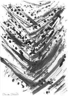 DARTGR1215043  #paint #Black #Grey #White #Life #design #sketches #DanielaDallavalle #ink #art #Grafismi